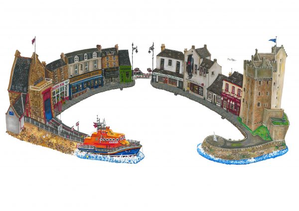 Nicola Kleppang_Gray Street, Broughty Ferry_10x13.5