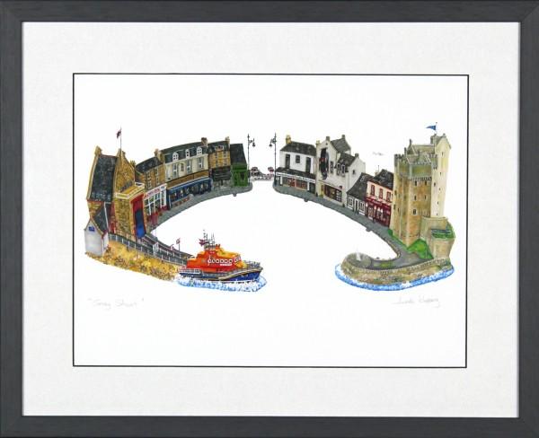 Nicola Kleppang_Gray Street_15.5x19_Framed Print