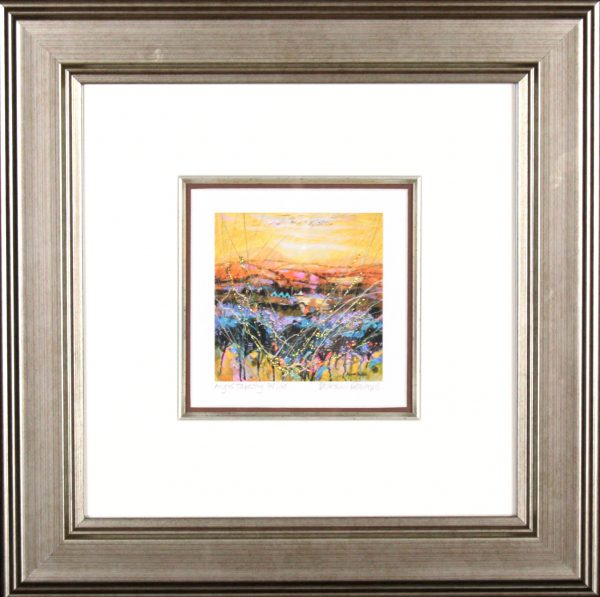 Deborah Phillips_Angus Tapestry_14x14_Framed Print