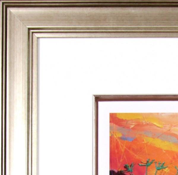 Deborah Phillips_Hot Fiery Sunset_25x25_Frame detail