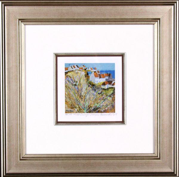 Deborah Phillips_Winter Sunlight, St Monans_14x14_Framed Print