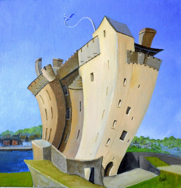 Gail Stirling Robertson_Broughty Ferry Castle_SLE_6x6