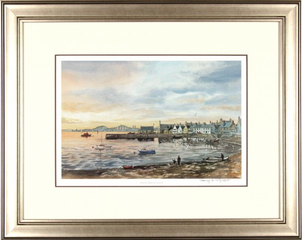Harry McGregor_Sunset, Beach Crescent_20.5x25_Framed Print copy