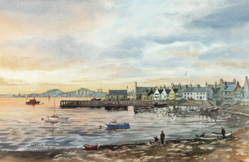 Harry McGregor_Sunset, Beach Crescent_SLE_9.5x15