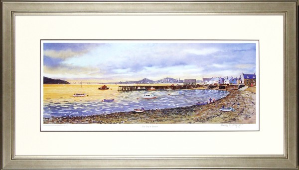Harry McGregor_The Tay At Sunset_20.5x35.5_Framed Print