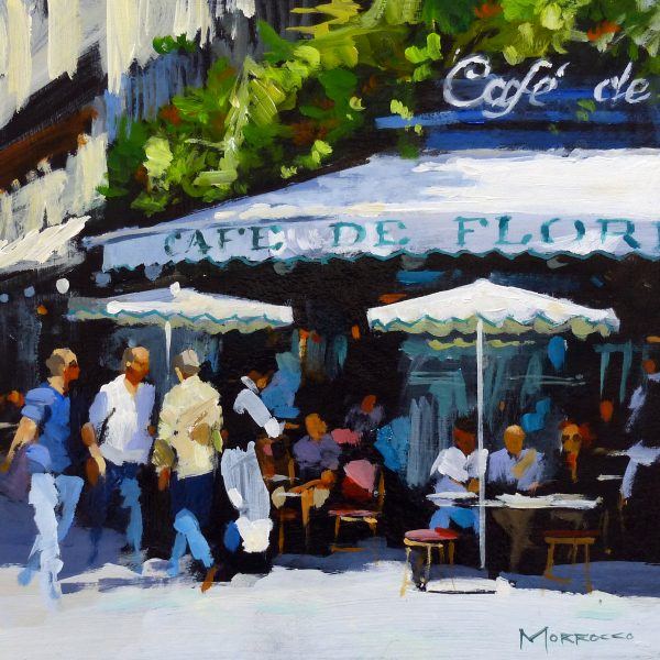 Jack Morrocco_SLE Print_Cafe, DeFlore, Paris, France_12x12