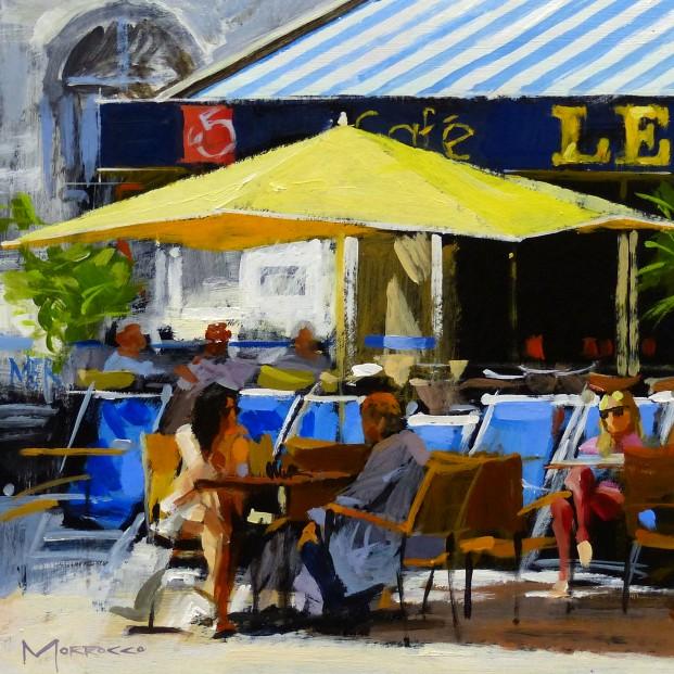 Jack Morrocco_SLE Print_Cafe, St Malo, France_12x12