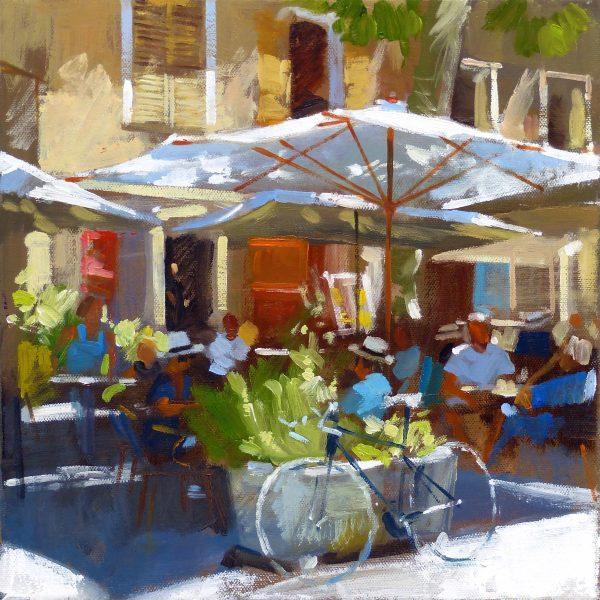 Jack Morrocco_SLE Print_Cafe, Tourtour, France_12x12