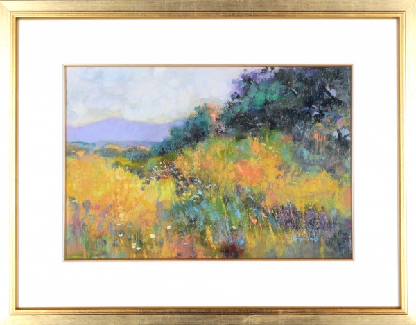Hugh Bryning_Late SPring Panorama Crete_Oils_20x26 Framed