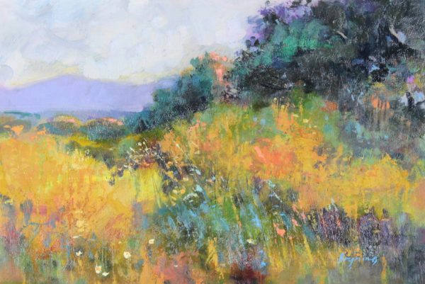 Hugh Bryning_Late Spring Panorama Crete_Oils_12x17.5