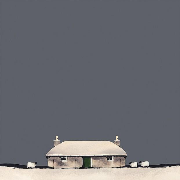 Ron Lawson_Deep Mid Winter_13.5x13.5