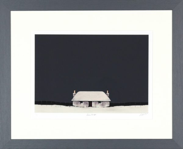 Ron Lawson_Snow Drift_SLE Print_Framed 21x26_Image size12x17