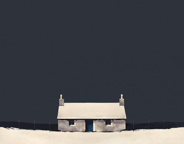 Ron Lawson_Winter Bothy_11x14