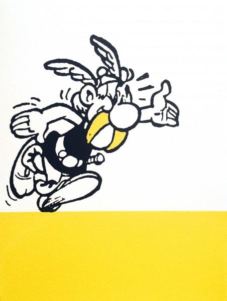John Patrick Reynolds_Comic Art_Asterix Says Hello