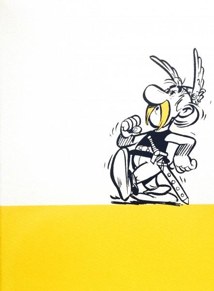 John Patrick Reynolds_Comic Art_Asterix Whistles