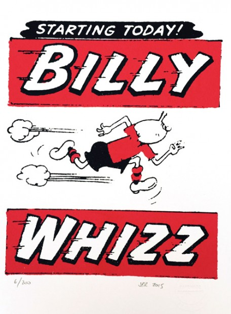 John Patrick Reynolds_Comic Art_Billy Whizz