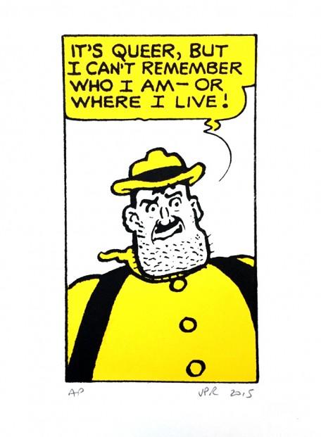 John Patrick Reynolds_Comic Art_Desperate Dan Says I Can't Remember