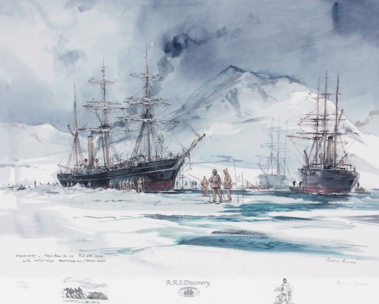Peter Knox_Discovery, Freed From the Ice_20x23