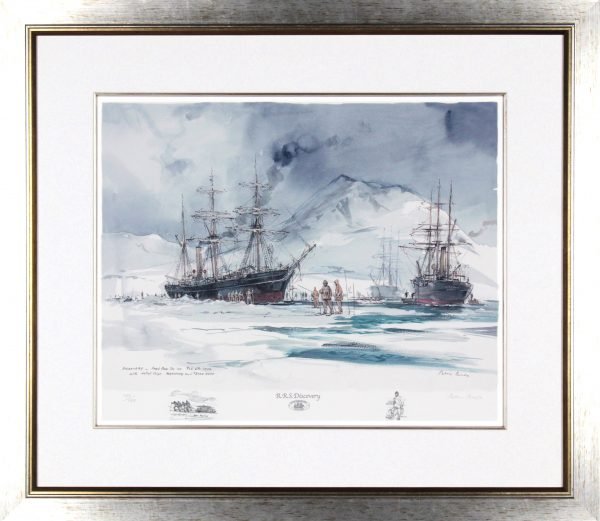 Peter Knox_Discovery, Freed From the Ice_26.5x30.5_Framed Print