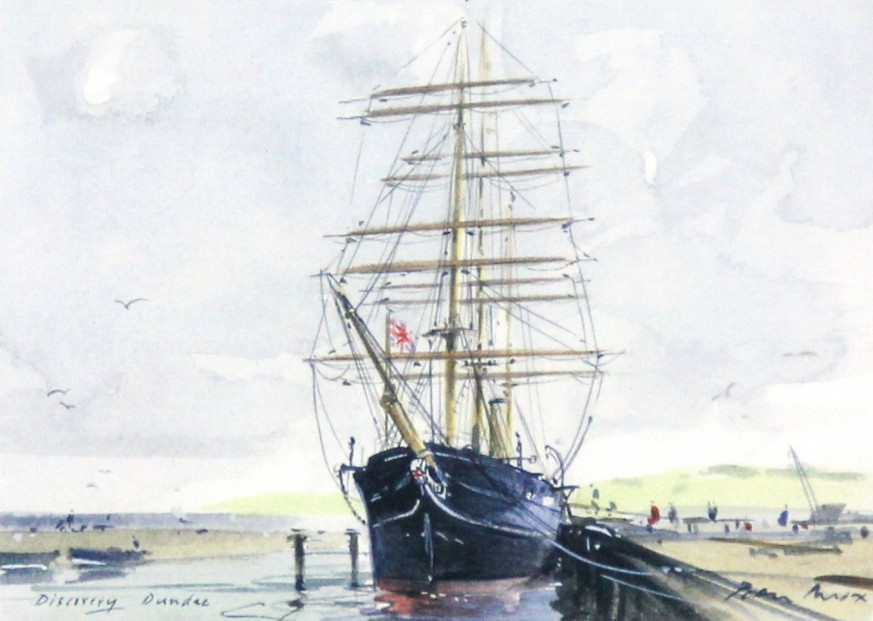 Peter Knox_RSS Discovery, Quayside_6x8