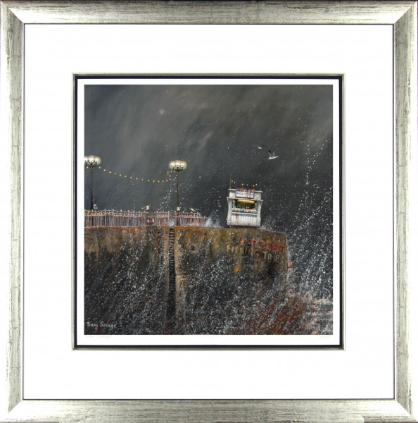 Tracy Savage_East Coast Fish n Chips_28x28_Framed Print