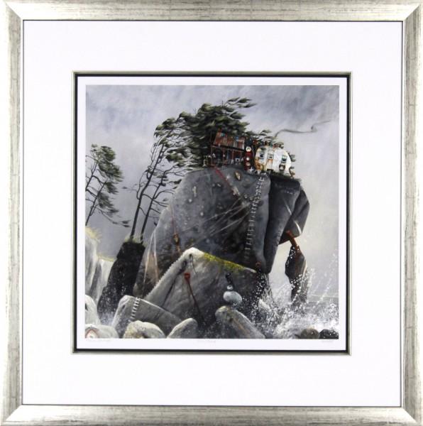 Tracy Savage_Grey Crag_28x28_Framed Print