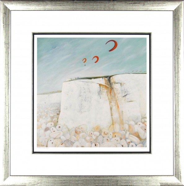 Tracy Savage_Kites_28x28_Framed Print