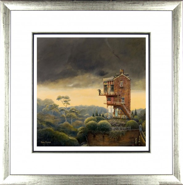 Tracy Savage_Last One Home_28x28_Framed Print