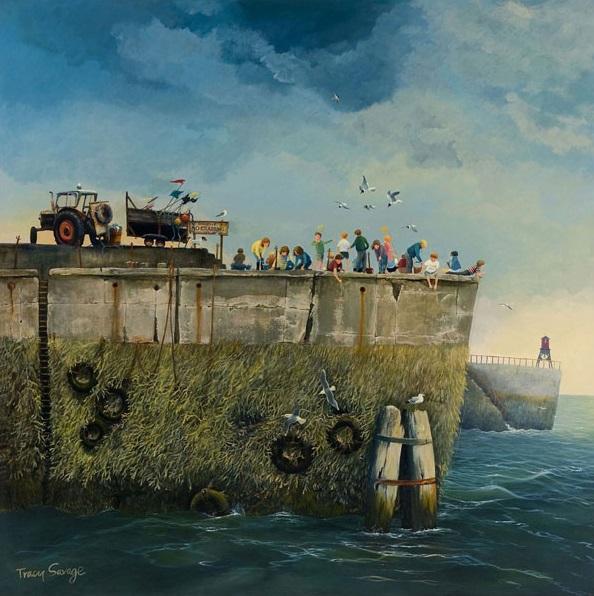 Tracy Savage_No Crabbing_16.5x16.5