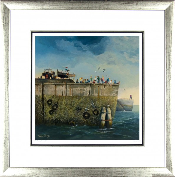 Tracy Savage_No Crabbing_28x28_Framed Print