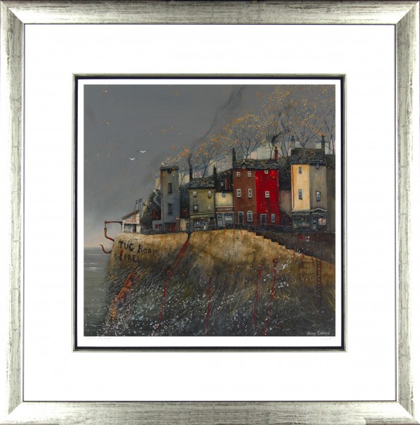Tracy Savage_Quiet Tuesday_28x28_Framed Print