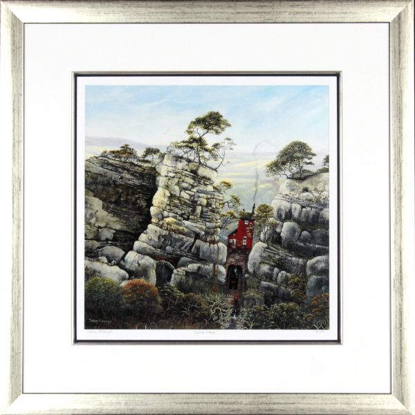 Tracy Savage_Sluice House_28x28_Framed Print