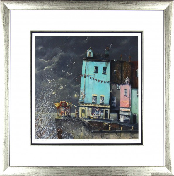 Tracy Savage_The Last Ride_28x28_Framed Print