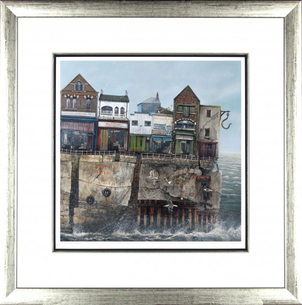 Tracy Savage_The Old Fruit Market_28x28_Framed Print