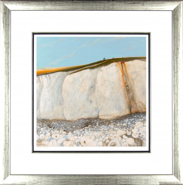 Tracy Savage_Walking the Dogs_28x28_Framed Print