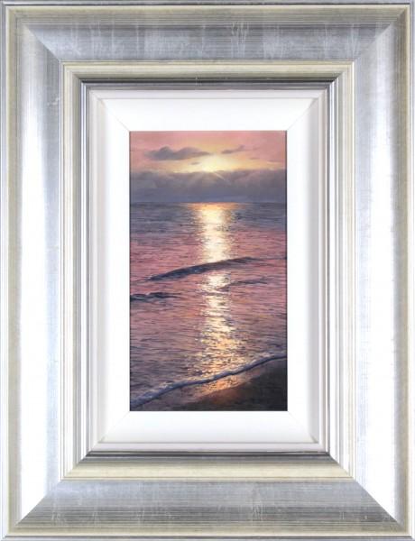 Alfredo Novarro_Sunrise_Oils_Framed 20.5x14_ Image 9x12.5