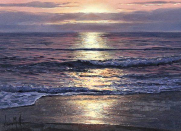 Alfredo Novarro_Sunset II_Oils_ Image 9x12.5