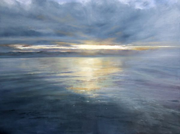 Fiona Haldane_Celestial Light, Tay Estuary_Pastel_36x48