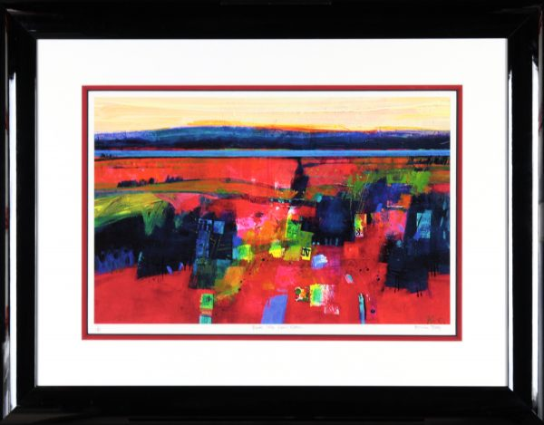 Francis Boag_Black Isle of Nairn_Signed Limited Edition Print Giclee_Framed 27x35_Image 15.5x23.5