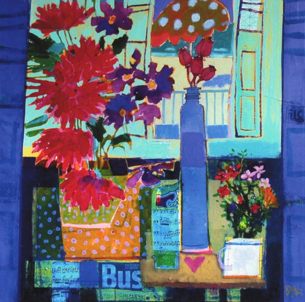 Francis Boag_Catherine's Bouquet_Signed Limited Edition Print Giclee_Image 23x23