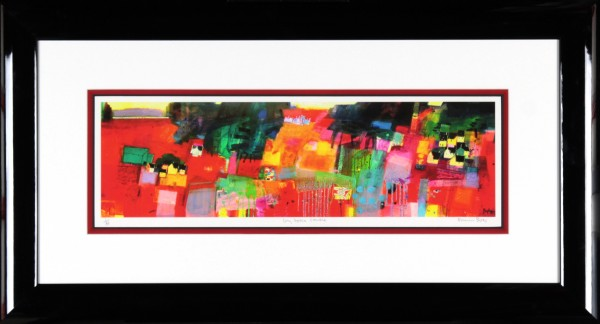 Francis Boag_Ury House Ramble_Signed Limited Edition Print Giclee_Framed 19x35_Image 7x23