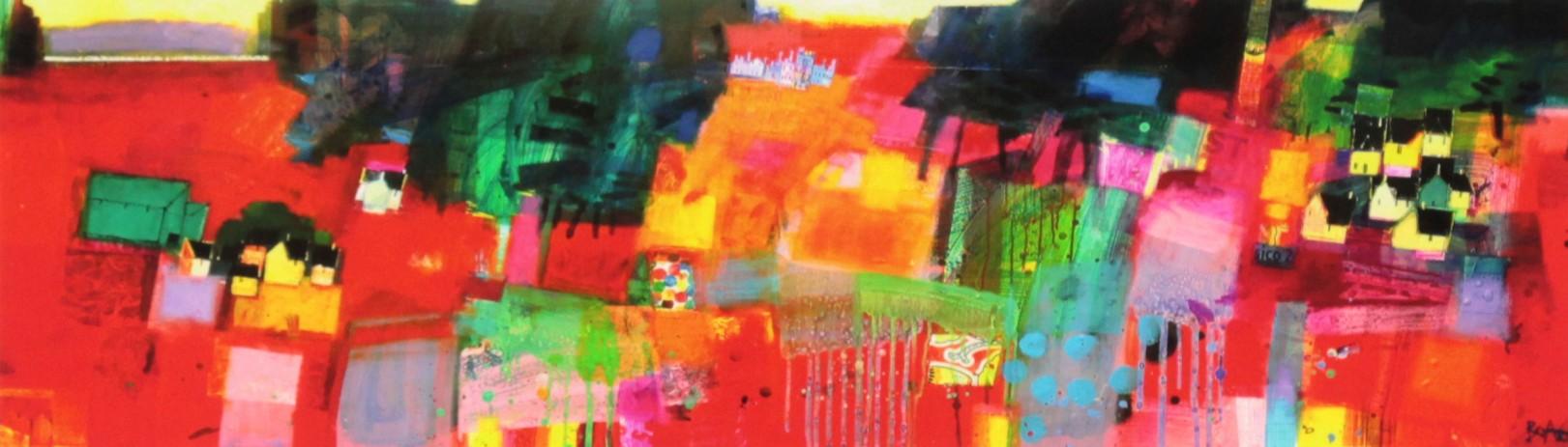 Francis Boag_Ury House Ramble_Signed Limited Edition Print Giclee_Image 7x23