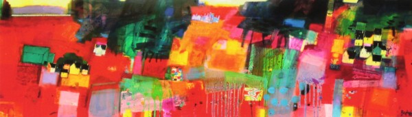 Francis Boag_Ury House Ramble_Signed Limited Edition Print Giclee_Image 7x23