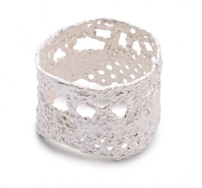 I love a lassie_Antique lace_Lace ring_silver_