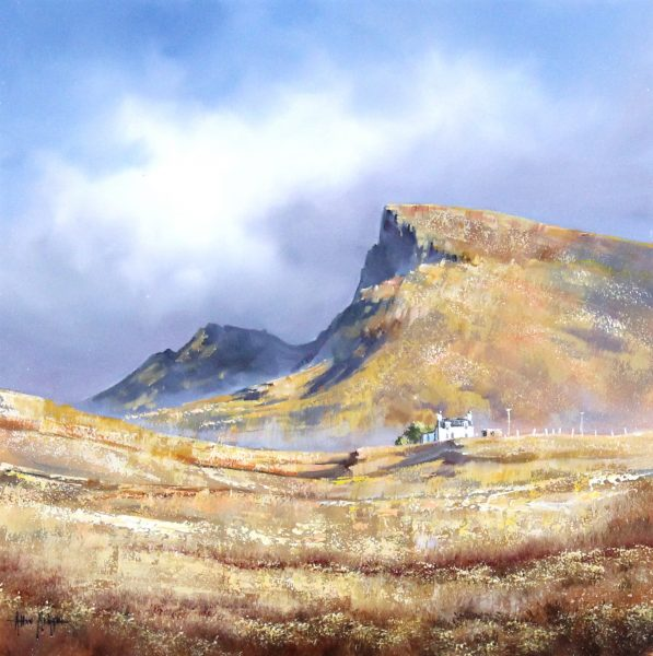 Allan Morgan_Oils_Skye Cottages_16x16