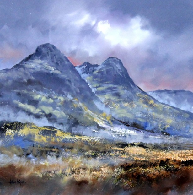 Allan Morgan_Oils_Soft Light, Glencoe_image 16x16