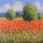 David Short_Original_Poppy Field I_image11.5x11.5