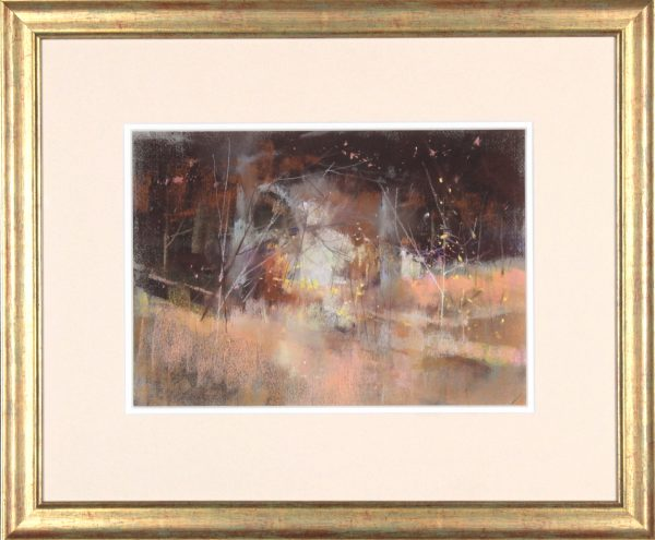 Oscar Goodall RSW_Original Pastels_ Woodside_Image 10x14_ Frame 20 x 24 (3)