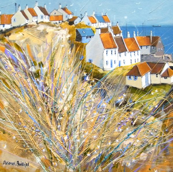 Deborah Phillips_Winter Sunlight, St.Monans_Acrylic_18x18