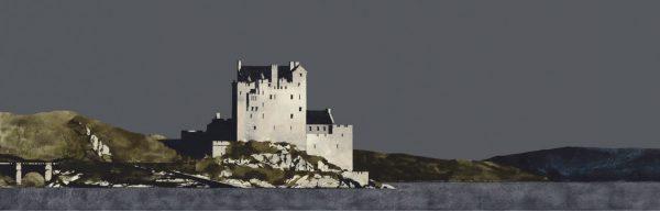 Ron Lawson_Eilean Donan Castle, Loch Duich_Image size 8x25 inches